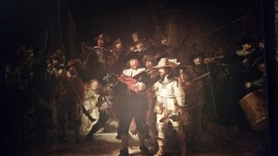 saw a possible remake of the rembrandt.