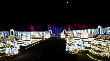 this is a snippet of the light show to the tchaikovsky's nut cracker suite!