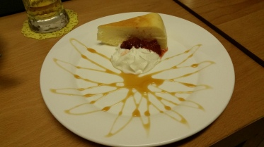 And dessert too! After we climbed the tallest point on Iki! Tsujiyama, at 9pm!! so fun! and windy!