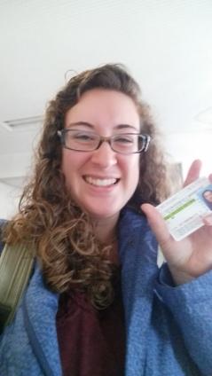 Got my licence!