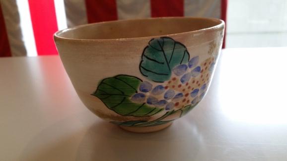The beautiful hydrangea cup!