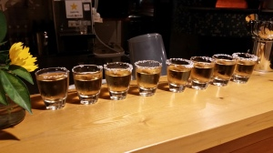 Tequila shots! (not all for me, omg)