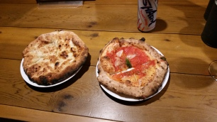 Potto Pizzaria fresh from the stone backed oven!