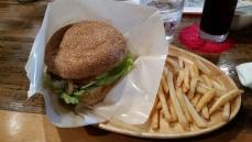 Mocha Java burger!