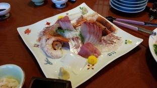 mmm fresh fish from Iki!