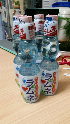 And all I can drink Ramune! My fav!