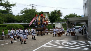 Yamagasa festival!!