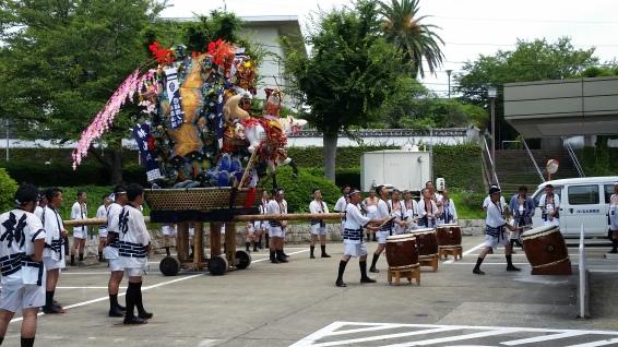 Taiko at the shrine