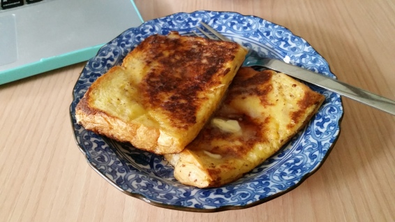 Mmm french toast!