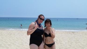 Beach with Becky!